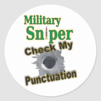 "Sniper ""Shooter"" Stickers"