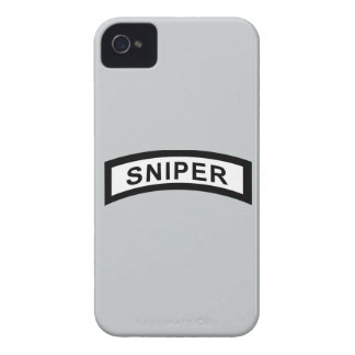 Sniper Tab - Black & White iPhone 4 Case-Mate Case
