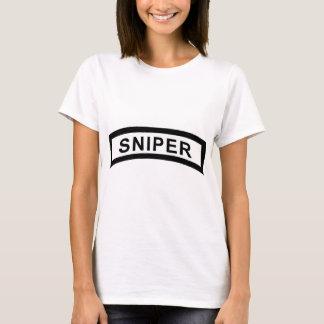 Sniper Tab - Black & White T-Shirt