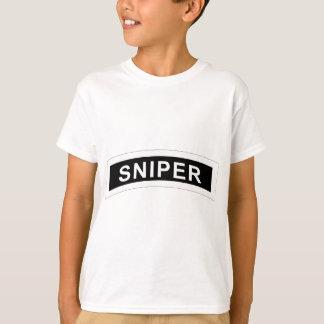 Sniper Tab - White & Black T-Shirt