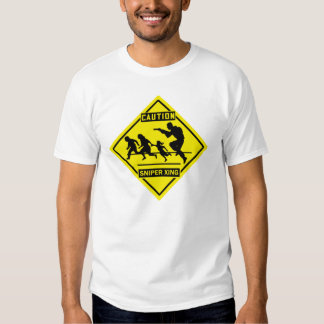 sniper xing - white shirt