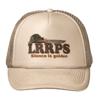 Snipers lrrps lrrp lurps army navy marines rangers trucker hat