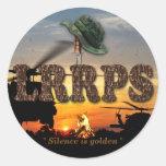 Snipers Recon LRRP LRRPS LURPS Vietnam Nam War Round Sticker