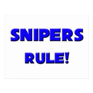 Snipers Rule! Postcard
