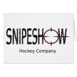 SnipeShow Hockey Co. Card