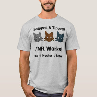 Snipped & Tipped TNR shirt