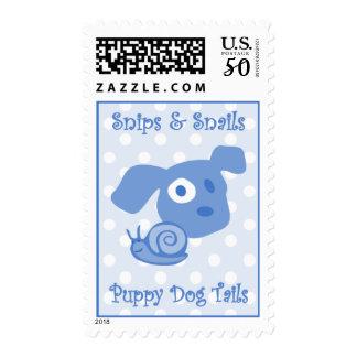 Snips & Snails Baby Stamp