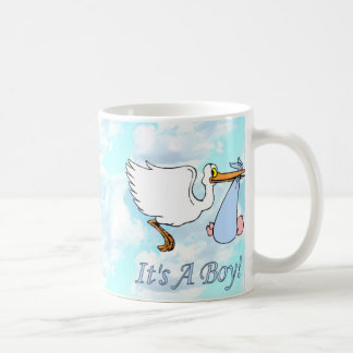 Snips & Snails It's A Boy Coffee Mug