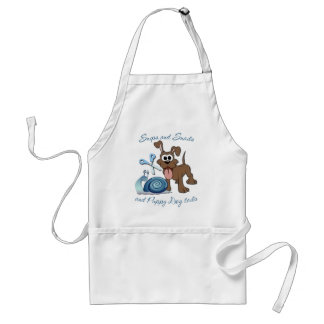 SNIPS SNAILS & PUPPY DOG TAILS ... ADULT APRON