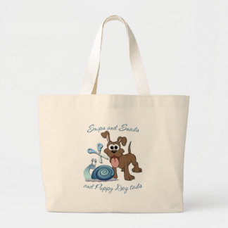 SNIPS SNAILS & PUPPY DOG TAILS ... CANVAS BAGS