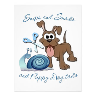 SNIPS SNAILS & PUPPY DOG TAILS ... LETTERHEAD TEMPLATE