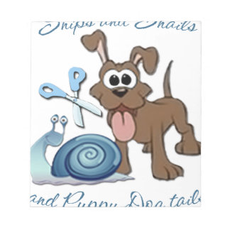 SNIPS SNAILS & PUPPY DOG TAILS ... MEMO NOTE PADS