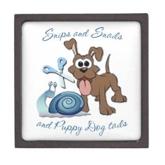 SNIPS SNAILS & PUPPY DOG TAILS ... PREMIUM KEEPSAKE BOXES