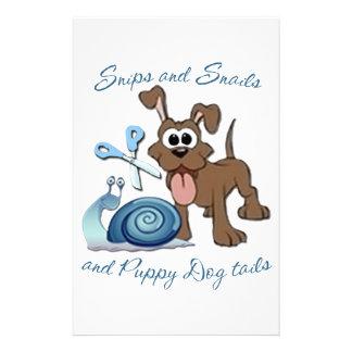 SNIPS SNAILS & PUPPY DOG TAILS ... STATIONERY