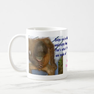 Snips,snails,puppy dog tails v. Sugar & Spice Coffee Mug