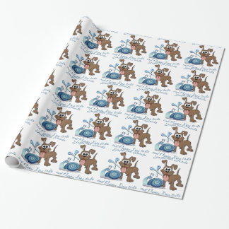 SNIPS SNAILS & PUPPY DOG TAILS ... WRAPPING PAPER