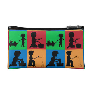 Snips, Snails & Puppy Dogs Tails Makeup Bag
