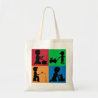 Snips, Snails & Puppy Dogs Tails Tote Bag