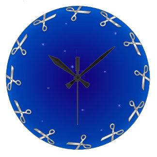 Snipstars wall clock