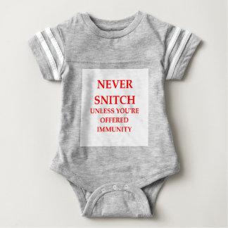 SNITCH BABY BODYSUIT