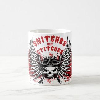Snitches Get Stitches Coffee Mug