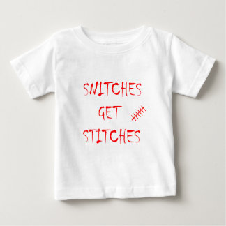 Snitches Get Stitches Infant T-shirt