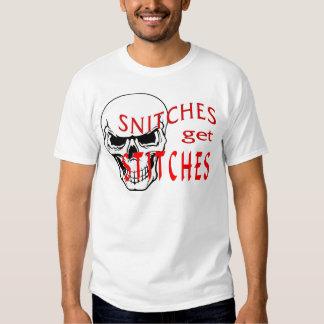 Snitches get Stitches Shirt