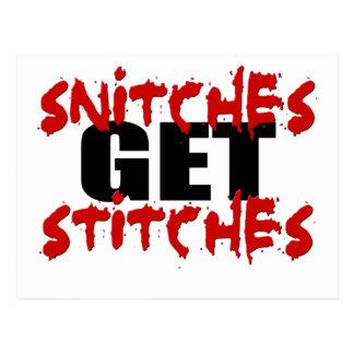 SnitchesStiches1 Postcard