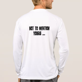 Snitchin de cuidado es hazdardous camiseta