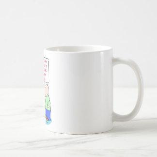 sniveling del grito de los hombres taza de café