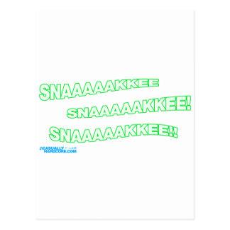 Snnaaaaakkkkeeee! Postcard