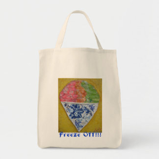 Sno Cone from original cool summer series painting Tote Bag