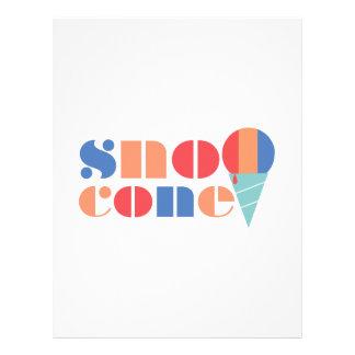Sno Cone Letterhead