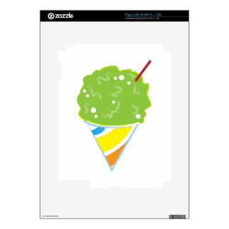 Sno Cone Decals For iPad 2
