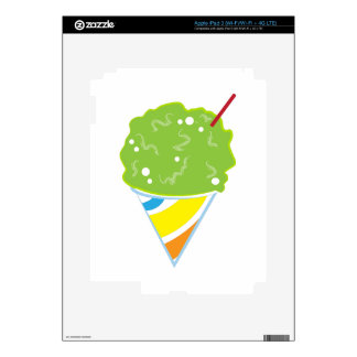 Sno Cone Decals For iPad 3