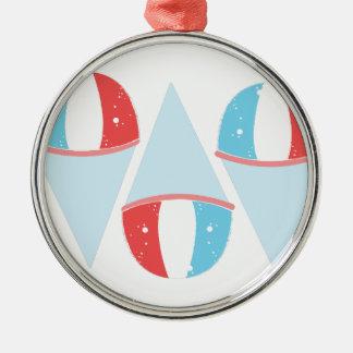 Sno Cones Metal Ornament