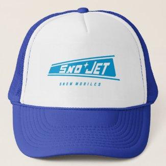 Sno Jet vintage snowmobiles Trucker                               Hat