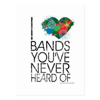 Snob de la música tarjetas postales