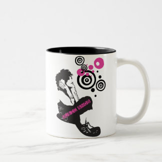Snob de la música tazas de café