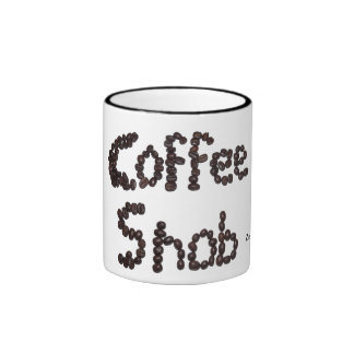 Snob del café taza de dos colores