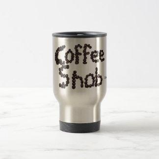 Snob del café taza de viaje