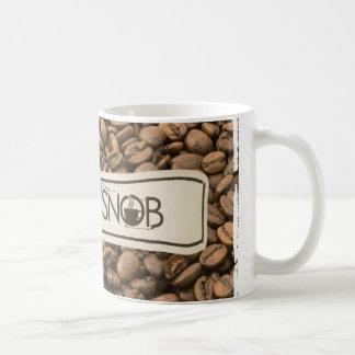 snob del café taza del campanero de 11 onzas