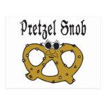 Snob divertido del pretzel