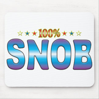 Snob Star Tag v2 Mouse Pads
