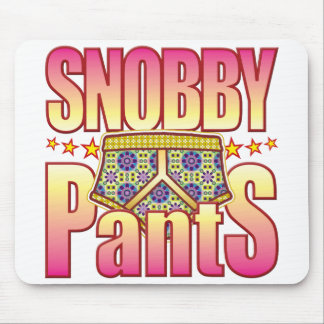 Snobby Flowery Pants Mouse Mat