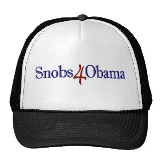 Snobs 4 Obama Gorros