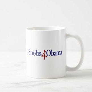 Snobs 4 Obama Mugs