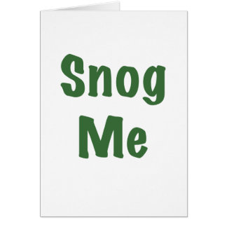 Snog Me Card
