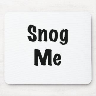 Snog Me Mouse Pad
