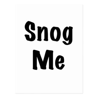 Snog Me Postcard